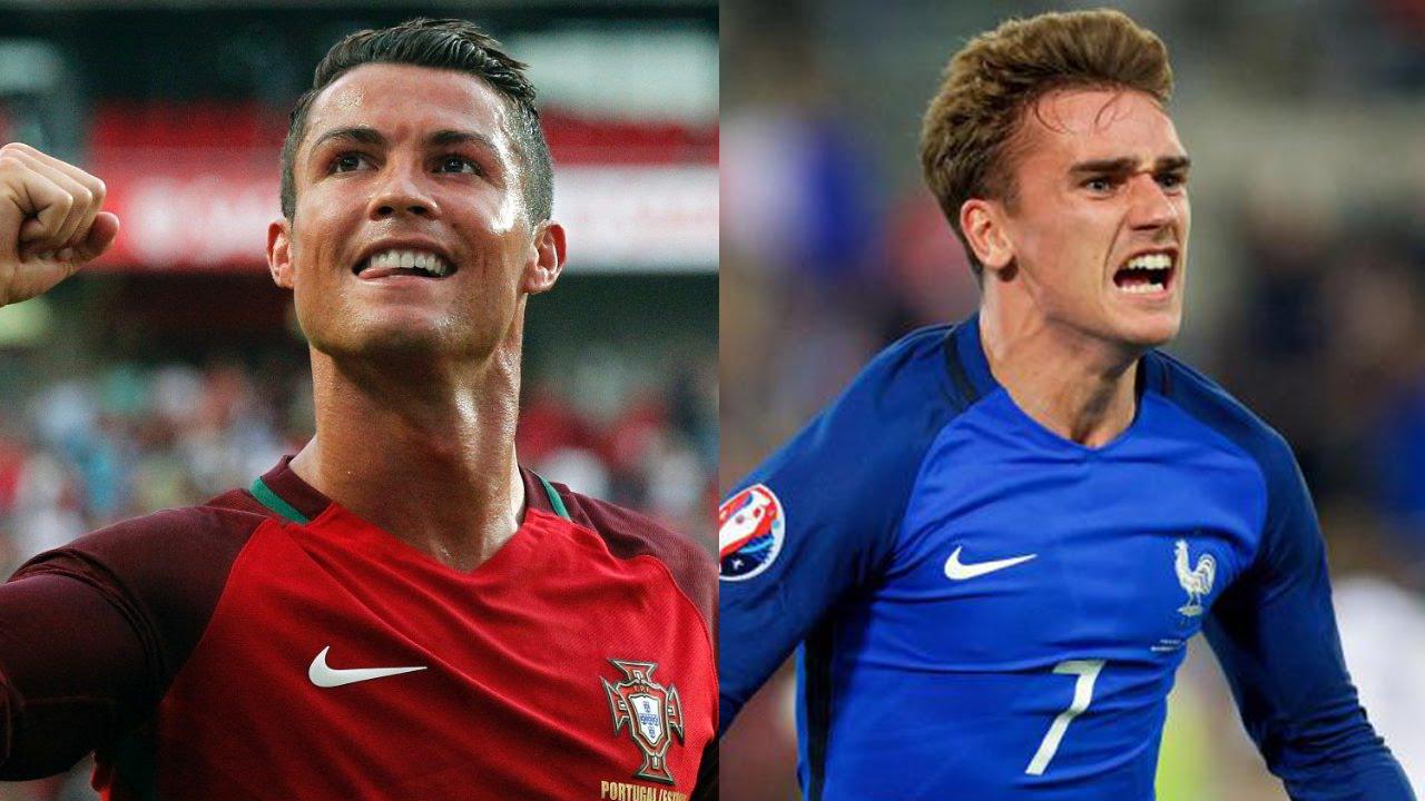 New Hair Cristiano Ronaldo Antoine Griezmann Pes 2016 Vf Psp Ps2
