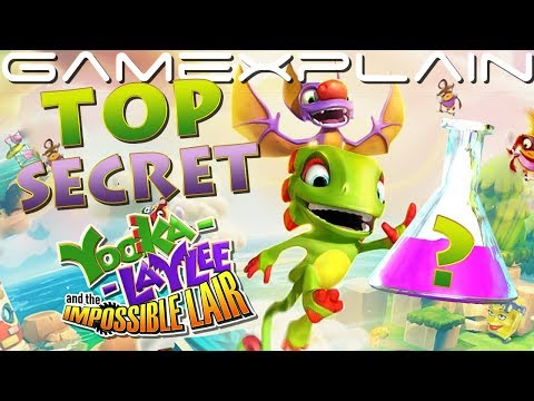 How to Find the SUPER SECRET Tonic in Yooka-Laylee and the Impossible Lair! (Guide)