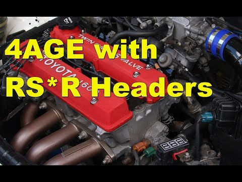 AE92 Corolla 4AGE Engine Sound