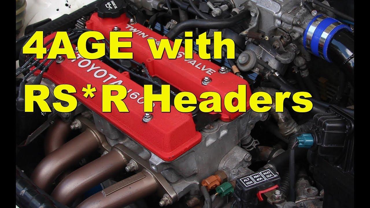 Ae92 Corolla 4age Engine Sound Youtube