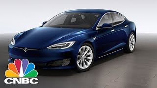 Tesla: Shares Sink After Model S Underperforms In Crash Test | CNBC