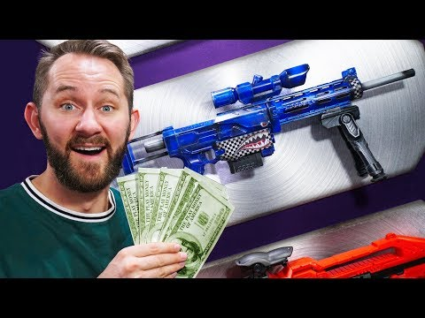 NERF Stash Your Cash | Roulette Challenge!