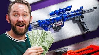 NERF Stash Your Cash | Roulette Challenge!