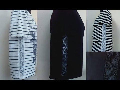 Как увеличить футболку в размере