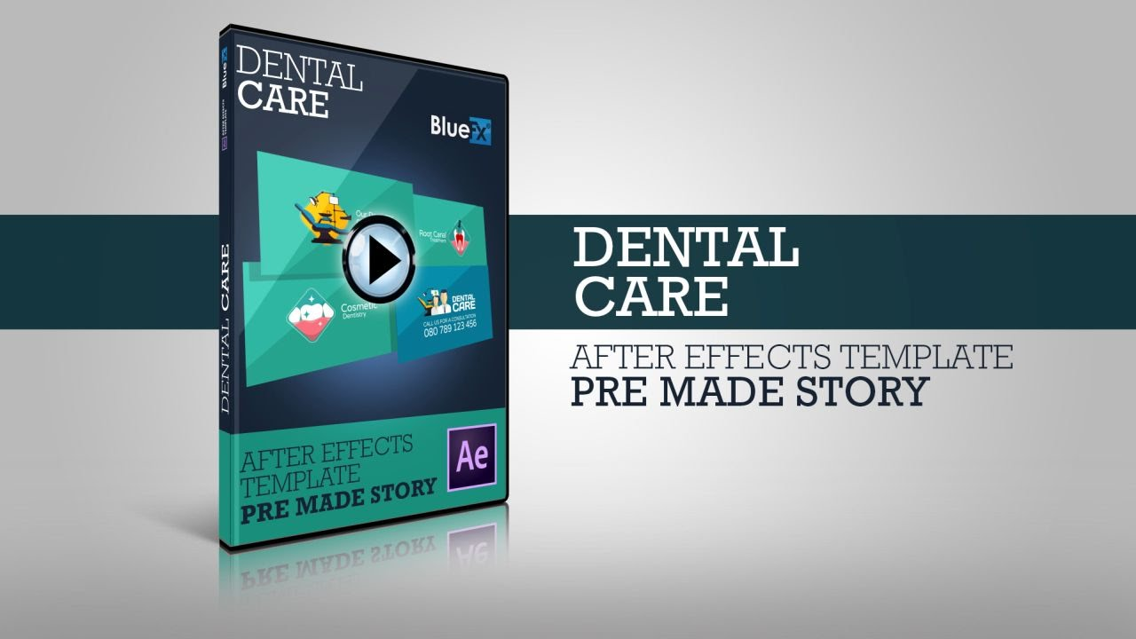 After Effects Dental Care Template - YouTube