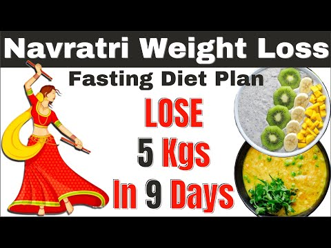 Navratri Weight Loss Diet Plan to Lose Weight Fast - Intermittent Fasting Meal Plan for Weight Loss thumbnail