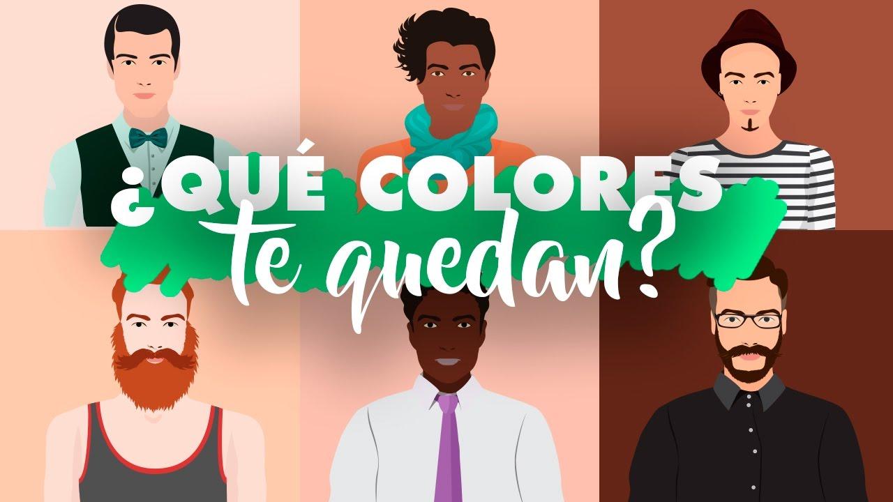e4073b9f8 ¿Qué colores te quedan  TONOS DE PIEL HOMBRES – Hussito - YouTube