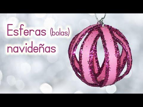 Manualidades para navidad esferas scrap esferas de papel doovi - Manualidades bolas de navidad ...