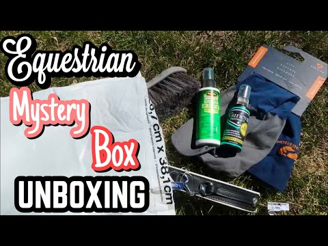 Equestrian Mystery Box Unboxing // TACK HAUL // Happy Horse Tack