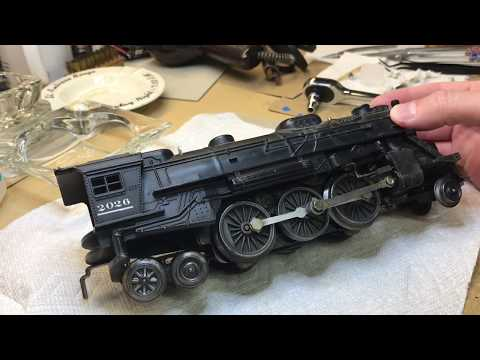 Lionel 2026 O-gauge disassembly & repair