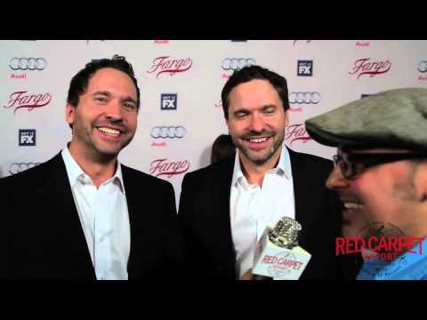 "Todd & Brad Mann ""The Kitchen Brothers"" at FX's Fargo Red Carpet Premiere Event #FargoFX"