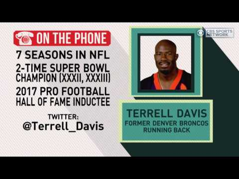 Gottlieb: Terrell Davis on entering the Pro Football Hall of Fame