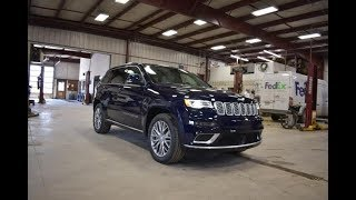 2018 True Blue Pearl Jeep Grand Cherokee Summit SJ6478 Motor Inn Auto Group