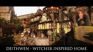 TES V - Skyrim Mods: Deithwen - Witcher Inspired Home