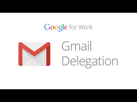 How To Set Up Gmail Delegation