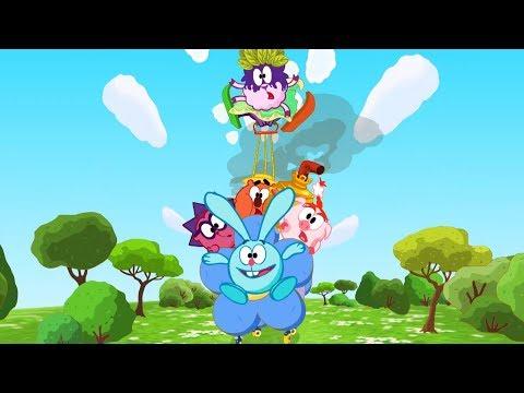 Как собрать друзей по-быстрому - Смешарики 2D | Мультфильмы для детей