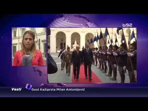 Vučić u Rimu