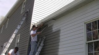 A Close-up Look at Painting Aluminum Siding