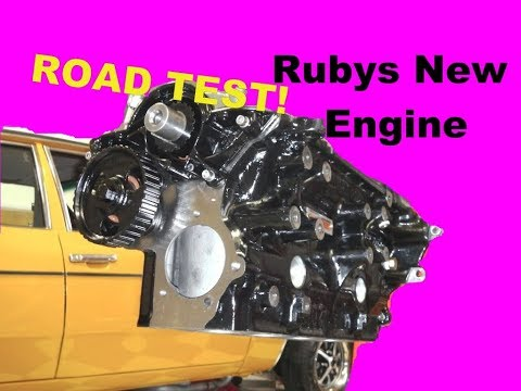 Mk3 Cortina  New Engine - Road Test