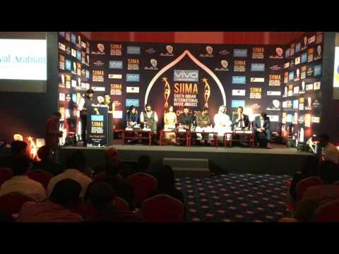 South India International Movie Awards-SIIMA 2017 Press Conference at ADNEC | 02 May 2017