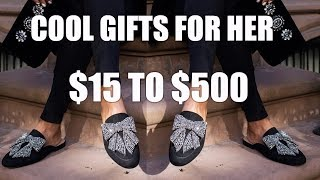 THE ULTIMATE GIFTS FOR HER | SHOES, DRESSES, BAGS