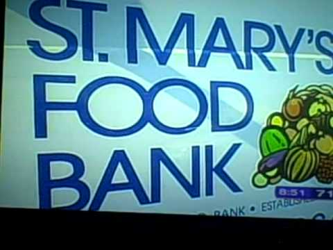 Madison Curtis in her News Channel 3 interview ST. MARY'S FOOD BANK