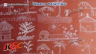 Warli Painting - Harmony with Nature | JK Arts 578