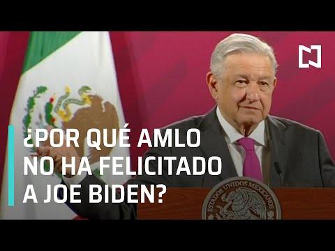 ¿Por qué AMLO no ha felicitado a Joe Biden? - En Punto