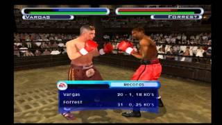 Knockout Kings 2001 Fernando Vargas Vs Vernon Forrest R I P