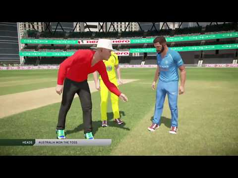 PS4 Gameplay: India vs Australia One day International 2017