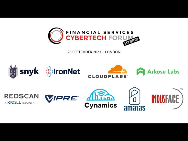 Welcome to CyberTech Forum for Financial Services 2021