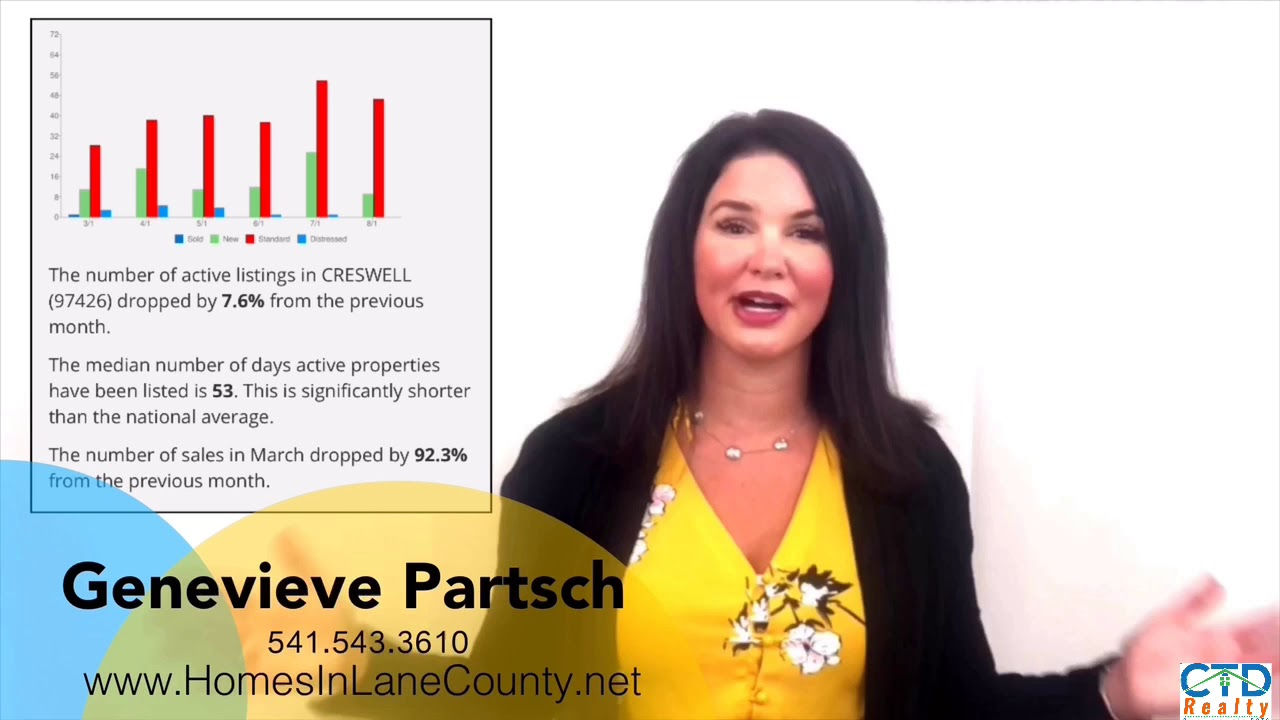 August Market Update for South Lane County