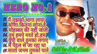 HERO NO. 1   AUDIO JUKEBOX  Bollywood Hindi songs  