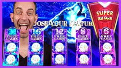 🚨SUPER FREE GAMES🚨🐺Timber Wolf Deluxe + 🤪Flippin' Out Slot Machine❗❗🍸Cosmo LAS VEGAS ✦ BCSlots