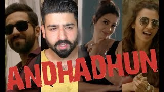 AndhaDhun Trailer Reaction | Tabu, Ayushmann Khurana, Radhika Apte | RajDeepLive