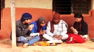 माग्नेले दिउँसै स्वस्थानी पढ्न थालेपछि || Swasthani, Magne Budo || Meri Bassai Best Comedy Clip