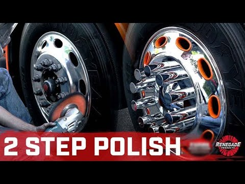 EASY 2 Step Polishing Process on a Semi | Renegade Products ft Evan Steger