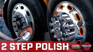 Renegade Products | EASY 2 Step Polishing Process on a Semi (Front Wheel)ft@Evan Steger
