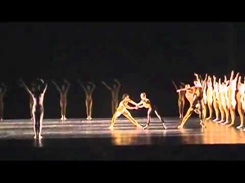 Excerpt from Artifact Part II. Choreography: William Forsythe. Ballet Frankfurt.