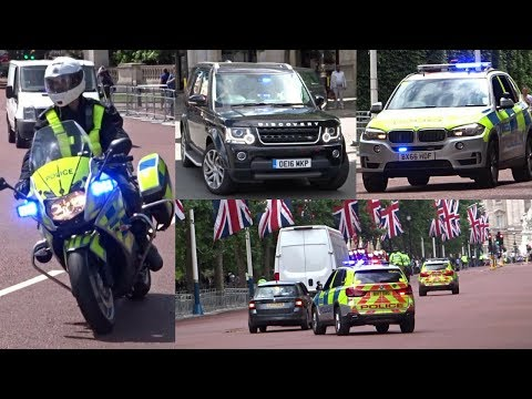 Trooping the Colour Preparations - Escorts, Responses & Police Activity