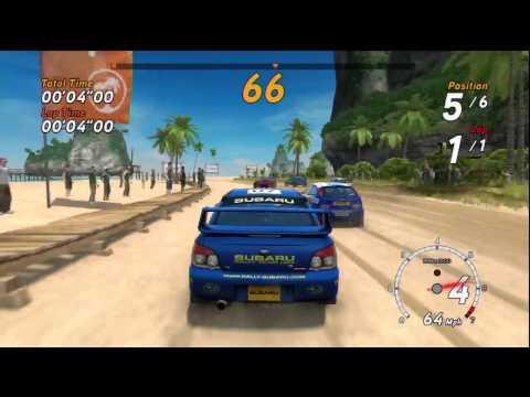 SEGA Rally Online Arcade - Xbox 360 Gameplay HD