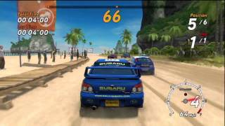 SEGA Rally Online Arcade - Xbox 360 Gameplay HD