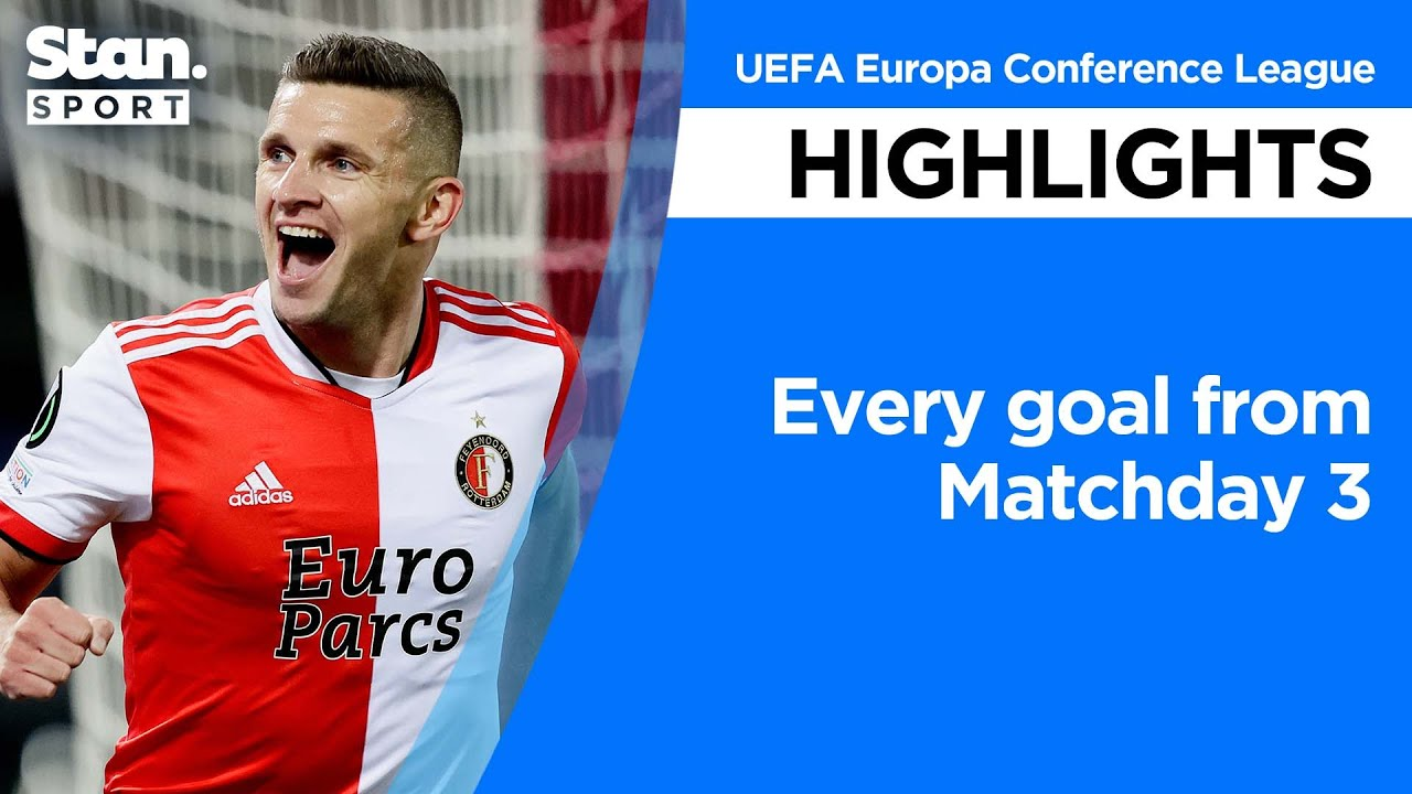 Download Every goal from Matchday 3 | UEFA Europa Conference League | 2021-22