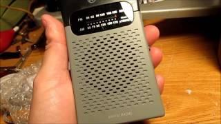Radio Shack 1200586 AM/FM Radio (2016)