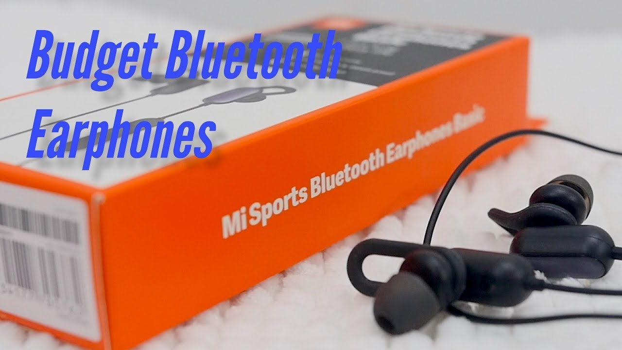 Mi Sports Bluetooth Earphones Basic Review
