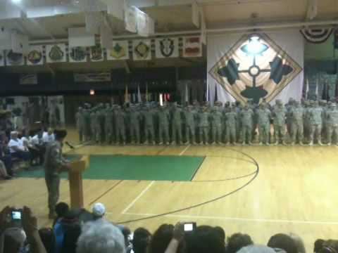 4th Infantry Division Homecoming