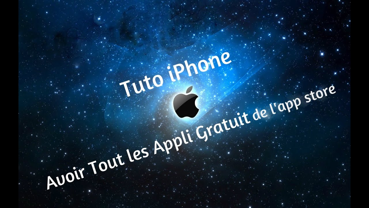 avoir toute application iphone gratuite