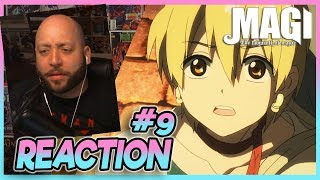"""Magi Labyrinth Of Magic Episode 9 REACTION """"A Prince's Duty"""""""