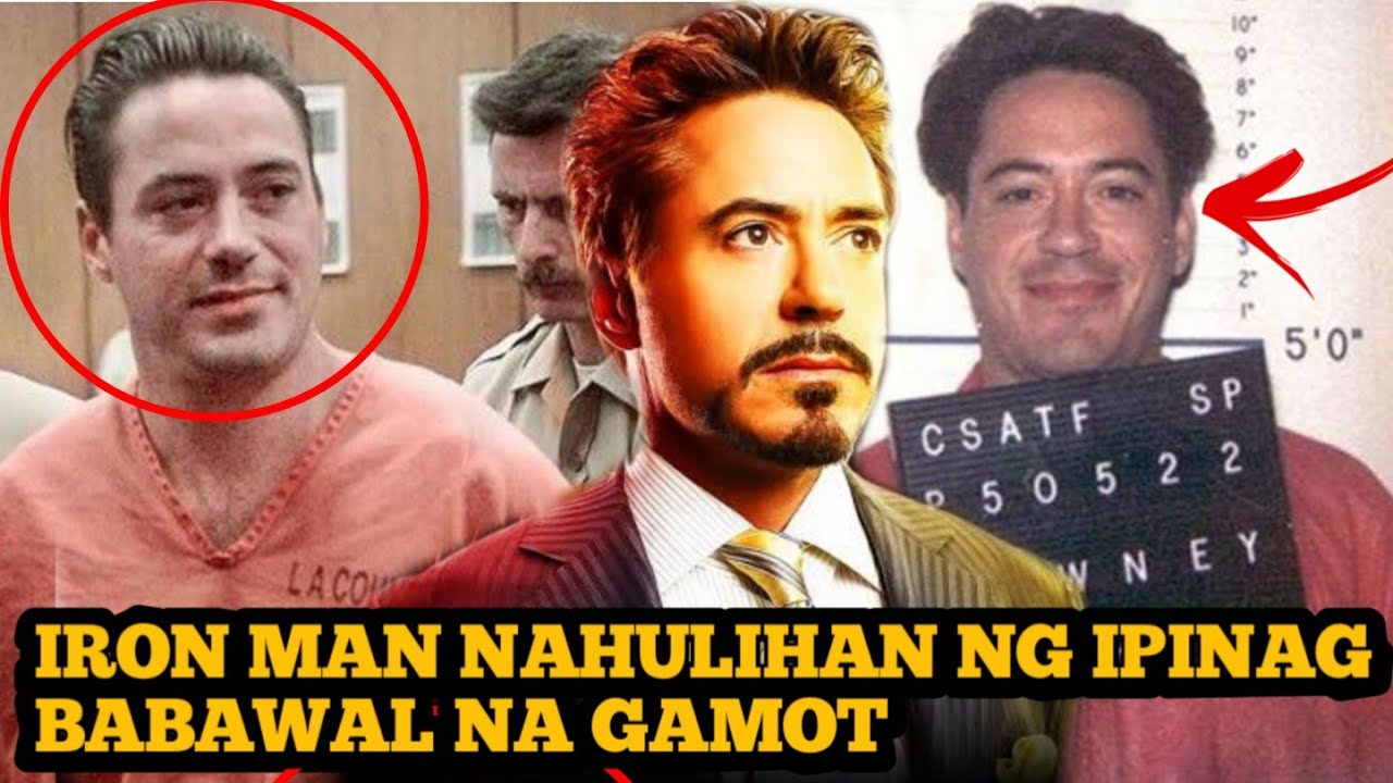 Iron Man Ikinulong Dahil sa Ipinagbabawal na Gamot!!!