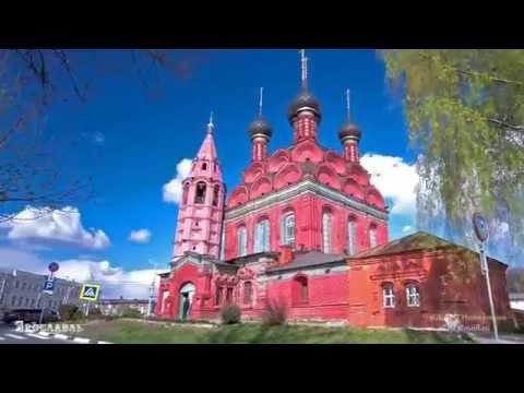 Golden Ring of Russia: Yaroslavl, Rostov, Sergiyev Posad, Moscow